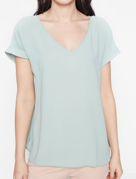 Блузка Koton 7YAB67998OW Green