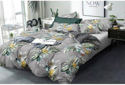 Комплект постільної білизни SoundSleep Exotic flowers сатин 200х220 (93425193)