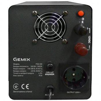 Джерело безперебійного живлення GEMIX PSN-500 (PSN500VA)