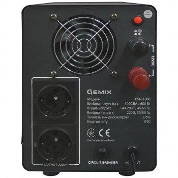 Джерело безперебійного живлення GEMIX PSN-1000 (PSN1000VA)