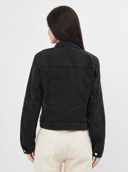 Джинсова куртка H&M 1102-7861701 Чорна