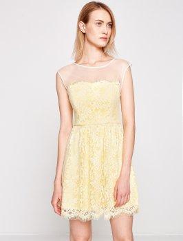Платье Koton 7YAK84034FK Yellow