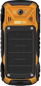 Мобильный телефон Maxcom MM920 Black-Yellow