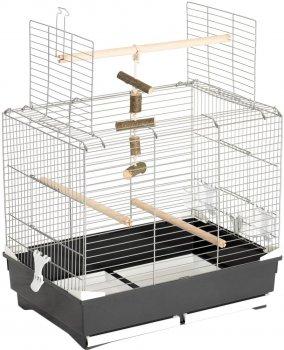 """Клетка для птиц FOP """"IVONNE"""" оцинкованная 66 х 45 х 60 см Коричневая (8018084032734)"""
