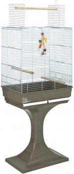 """Клетка для птиц FOP """"SORAYA"""" оцинкованная 66 х 45 х 81 см Мокко (8018084032130)"""