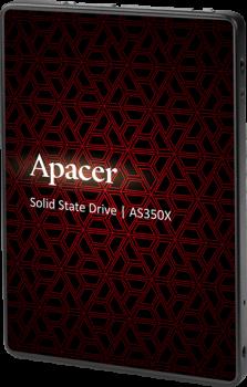 """Apacer AS350X 1TB 2.5"""" SATAIII 3D NAND (AP1TBAS350XR-1)"""