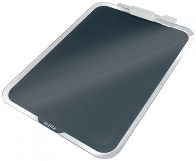 Флипчарт стеклянный настольный Leitz Cosy 216х297 мм серый (3947-00-89)
