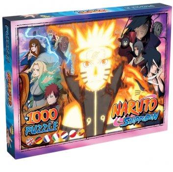 Пазл Winning Moves Jigsaw Puzzle Naruto 1000 елементів (WM00139-ML1-6) (5036905038423)