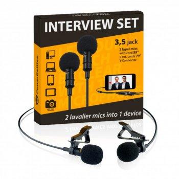 Набір з двох петличні мікрофони PowerDeWise PDW-2