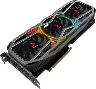 PNY PCI-Ex GeForce RTX 3070 XLR8 Gaming REVEL EPIC-X 8GB GDDR6 (256bit) (1725/14000) (HDMI, 3 x DisplayPort) (VCG30708TFXPPB)