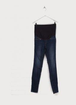 Джинси для вагітних H&M 3000244 Темно-сині