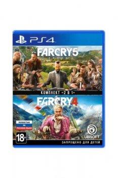 Far Cry 4 + Far Cry 5 (Sony PlayStation 4 ,Русская версия)