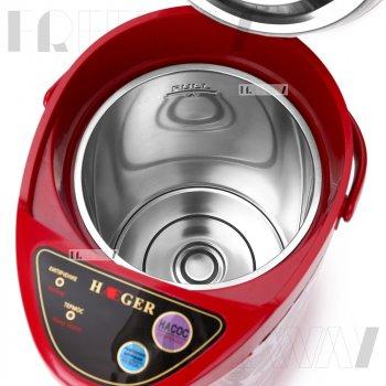 Термопот электрический 6.8 литров для дома нагревательный чайник термос с дисплеем 800Вт Haeger (HG-7907)