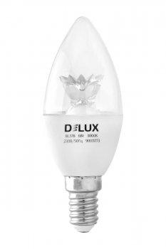 Світлодіодна лампа Delux Bl37B 6Вт 4000K 220В E14 (90011800)