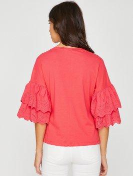 Блузка Koton 8YAK13365OK-401 Red