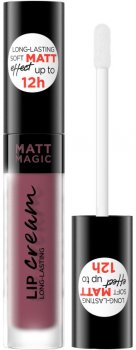 Рідка матова губна помада Eveline Matt Magic Lip Cream №18 4.5 мл (5903416013723)