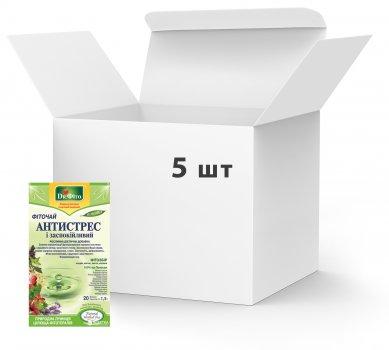 Упаковка Фиточай в пакетиках Доктор Фито Антистресс 20 х 5 шт (4820167092092)