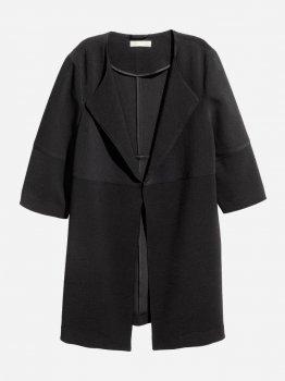 Пальто H&M hm01120068 Чорне
