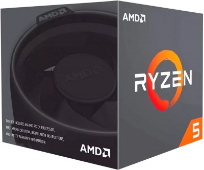 Процесор AMD Ryzen 5 1600 3.2GHz / 16MB (YD1600BBAFBOX) sAM4 BOX