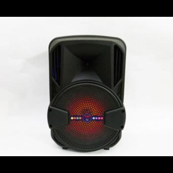 Беспроводная портативная bluetooth колонка - чемодан UKC ALP-801 8 с караоке (S-00395)