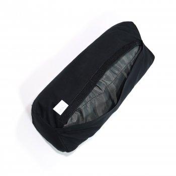 Масажний Валик (напіввалик аплікатор Кузнєцова) масажер для голови/шиї/спини OSPORT Lotus Eco (apl-024) Чорно-бірюзовий