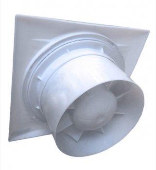 Вентилятор вытяжной Eraplast бытовой 25 Вт 150 мм декоративный