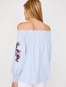 Блузка Koton 8YAK68314PW-01K Blue Stripe