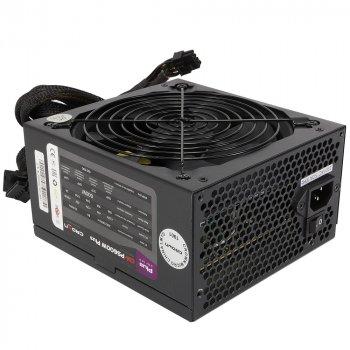 Блок живлення Crown CM-PS600 Plus Black 600W ATX