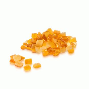 Цедра апельсина в кубиках 6х6мм