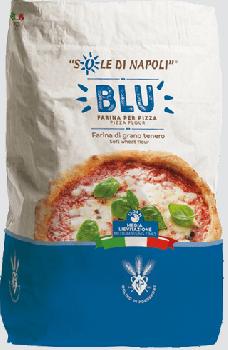 Итальянская мука для пиццы Sole di Napoli BLU (25 кг)