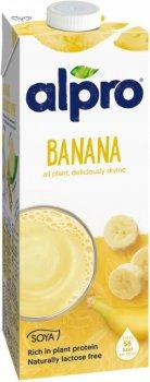 Соевое молоко с банановым вкусом Alpro (1 л)