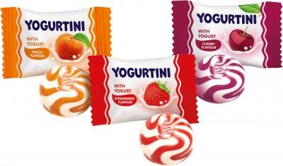Карамель леденцовая Roshen Yogurtini Микс 1 кг (4823077627200)