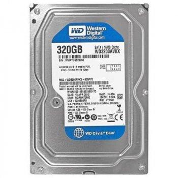 Накопичувач HDD SATA 320GB WD 7200rpm 16MB (WD3200AVKX)