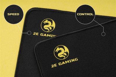 Игровая поверхность 2E Gaming Mouse Pad Speed M Black (2E-PGSP300B)