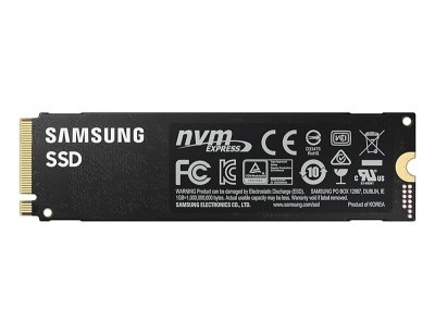 Накопичувач SSD 500GB Samsung 980 PRO M. 2 PCIe 4.0 x4 NVMe V-NAND MLC (MZ-V8P500BW)