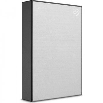 """Накопичувач зовнішній HDD 2.5"""" USB 4.0 TB Seagate One Touch Silver (STKC4000401)"""