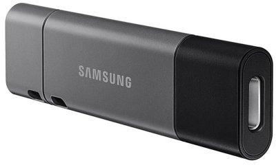 Флеш-накопичувач USB 3.1 32GB Type-C Samsung Duo Plus Grey (MUF-32DB/APC)