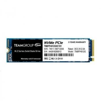 Накопичувач SSD 512GB Team MP34 M. 2 2280 PCIe 3.0 x4 3D TLC (TM8FP4512G0C101)