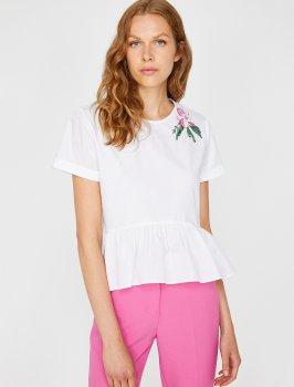 Блузка Koton 8YAK63569EW-001 Off White