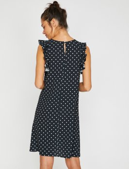 Платье Koton 8YAK88736PW-23H Black Design