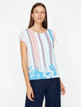 Блузка Koton 8YAK68317PW-A04 Pink Design