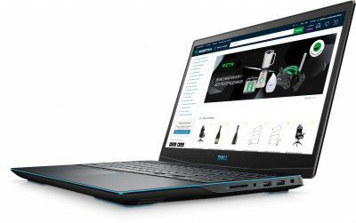 Ноутбук Dell G3 3500 (3500Fi58S3G1650T-LBK) Black
