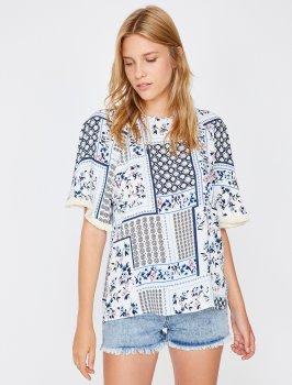 Блузка Koton 8YAK68651PW-27C White Design