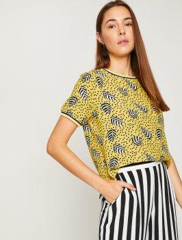 Блузка Koton 8YAK63128EW-I14 Yellow Design