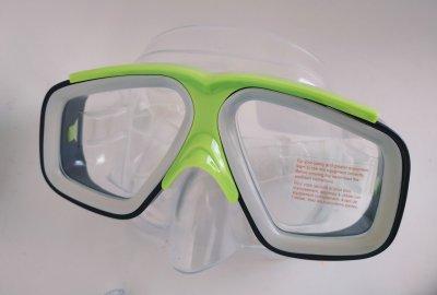 Набор для подводного плавания INTEX, поликарбонат, поливинирхлорид, салатовый (55949)
