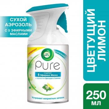 Аэрозольный освежитель воздуха Air Wick Pure Цветущий Лимон 250 мл (5011417570067)