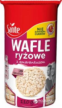 Упаковка хлебцев рисовых Sante с амарантом 110 г х 3 шт (1900617014676)