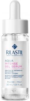 Гель-сыворотка интенсивно увлажняющая для лица Rilastil Aqua 30 мл (8050444858646)