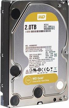 """Жорсткий диск Western Digital Gold 2TB 7200rpm 128MB WD2005FBYZ 3.5"""" SATA III"""