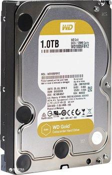 """Жорсткий диск Western Digital Gold 1TB 7200rpm 128MB WD1005FBYZ 3.5"""" SATA III"""